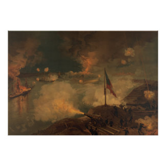 Battle of Port Hudson Poster