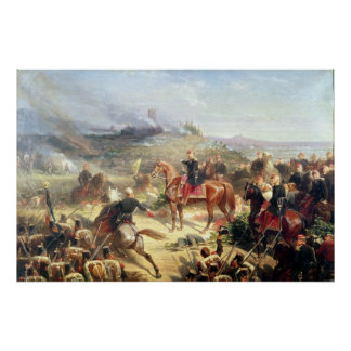 Battle of Solferino, 24th June 1859 Poster