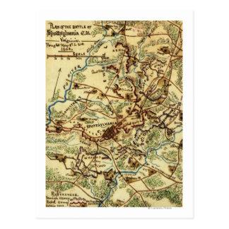 Battle of Spotsylvania Court House Postcard