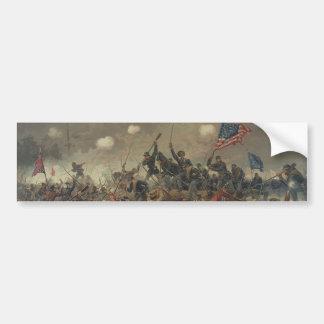 Battle of Spottsylvania by L Prang Co 1887 Bumper Stickers