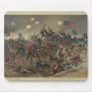 Battle of Spottsylvania by L. Prang & Co. (1887) Mouse Pad
