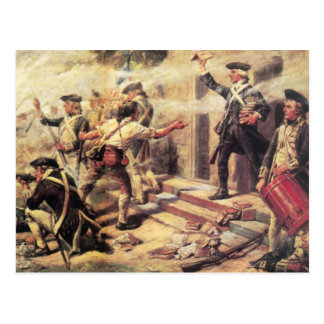 Battle of Springfield Postcard