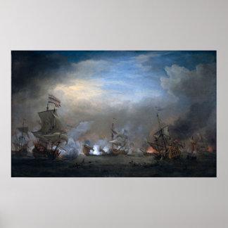 Battle of Texel Poster