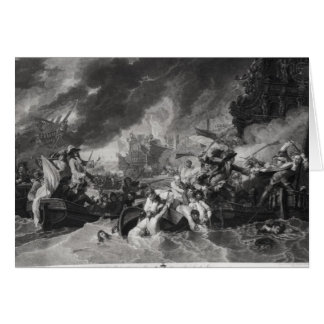 Battle of the Hague, 29th May 1692 Card