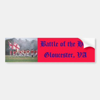 Battle of the Hook - Bumper Sticker