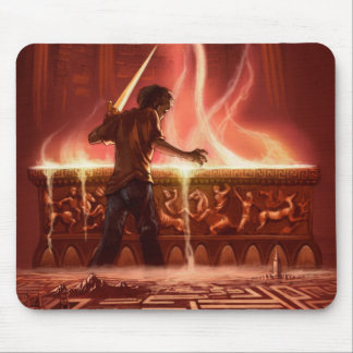 Battle of the Labyrinth Mousepad