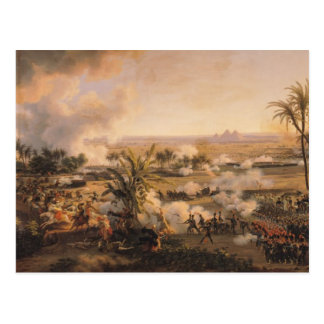 Battle of the Pyramids, 21st July 1798, 1806 Postcard