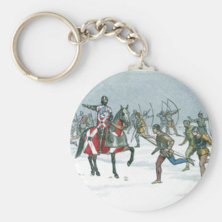 Battle of Towton 1461 Keychain