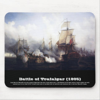 Battle of Trafalgar at noontide Mouse Pad