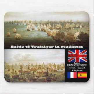 Battle of Trafalgar in readiness Mouse Pad