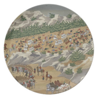Battle of Vasilika in 1821, from the Pictorial His Plate