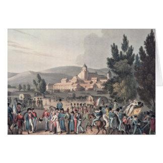 Battle of Vittoria,Bringing in the Prisoners Card
