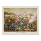 Battle of Williamsburg by Kurz and Allison 1862 Poster