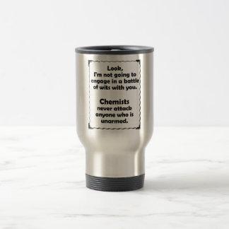 Battle of Wits Chemist Travel Mug