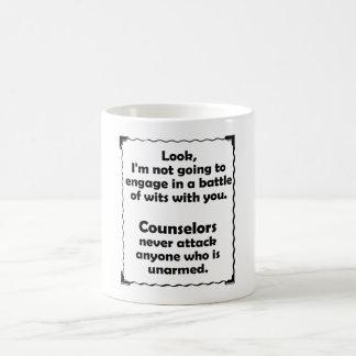 Battle of Wits Counselor Coffee Mug