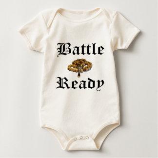 Battle Ready Baby Bodysuit