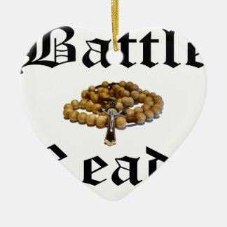 Battle Ready Ceramic Ornament