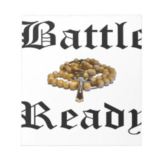 Battle Ready Notepad