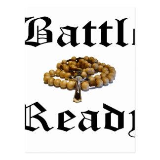 Battle Ready Postcard