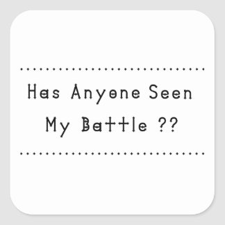 Battle Square Sticker