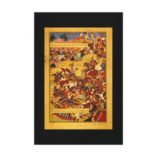 Battle Which Genghis Wins Power_The Orient Canvas Print