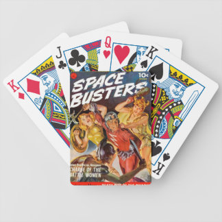 Battle Women Bicycle Playing Cards