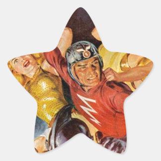 Battle Women Star Sticker