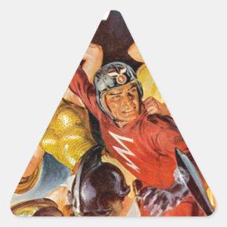 Battle Women Triangle Sticker