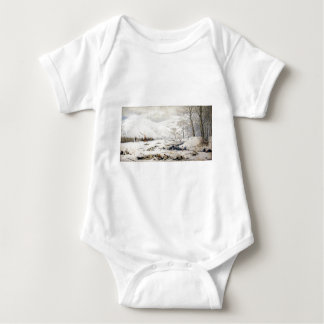 Battlefield at the Shipka Pass Baby Bodysuit