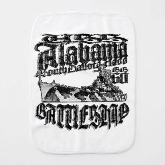 Battleship Alabama Burp Cloth Burp Cloth