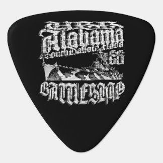 Battleship Alabama Groverallman Guitar Pick