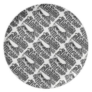 Battleship Alabama Melamine Plate Melamine Plate