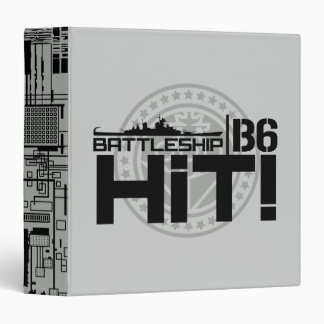 Battleship B6 Hit 2 Binders
