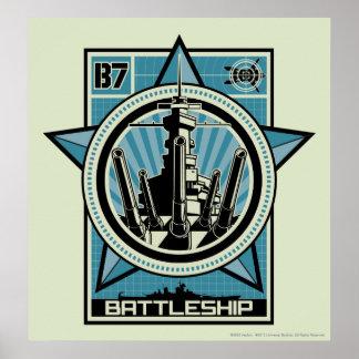 Battleship B7 Poster