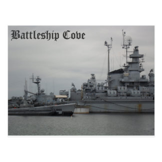 Battleship Cove Postcard