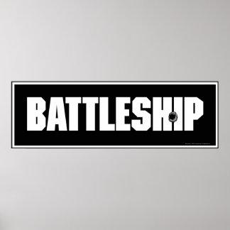Battleship Dark Poster