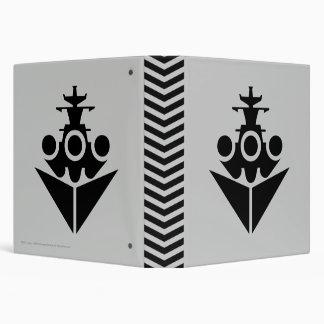 Battleship Icon Vinyl Binder