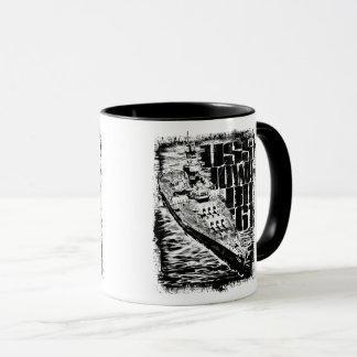 Battleship Iowa Combo Mug