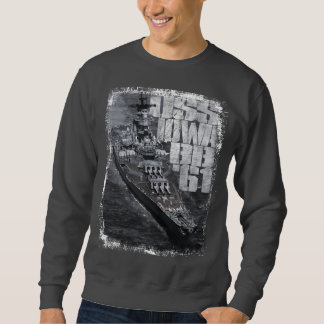 Battleship Iowa Men's Basic Sweatshirt