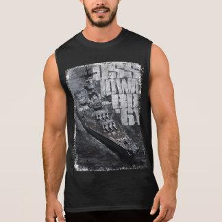 Battleship Iowa Sleeveless Shirt