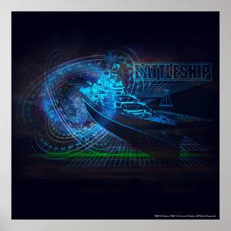 Battleship Naval 1 2 Poster