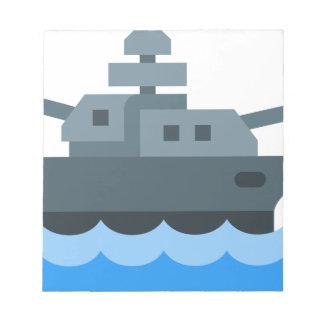 Battleship Notepad
