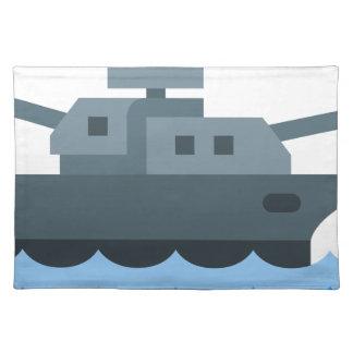 Battleship Placemat