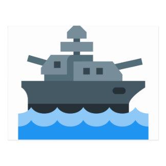 Battleship Postcard