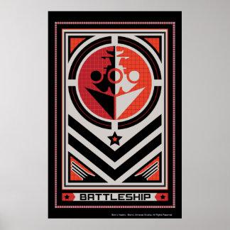 Battleship Propaganda Poster