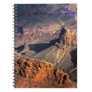 """""""Battleship Rock"""" Grand Canyon Spiral Notebook"""