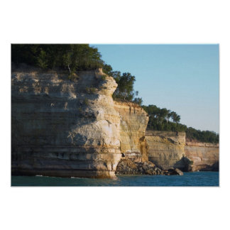 Battleship Row, Pictured Rocks Nat'l Lakeshore, MI Poster