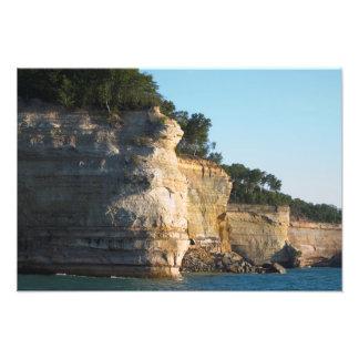 Battleship Row, Pictured Rocks NL, Michigan Photo