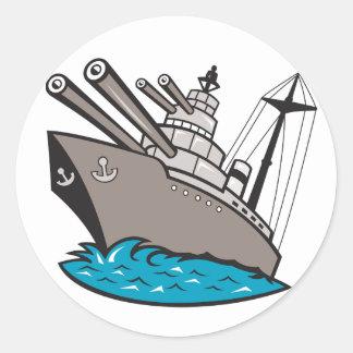 Battleship Stickers