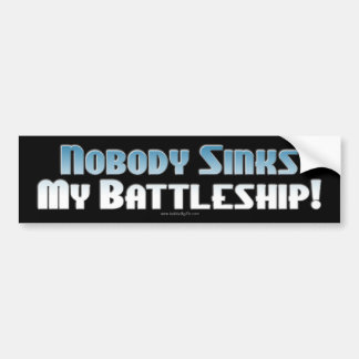 Battleship: The Game... Bumper Sticker